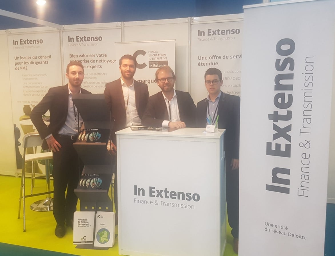 In Extenso Finance & Transmission présent sur le salon Europropre 2017
