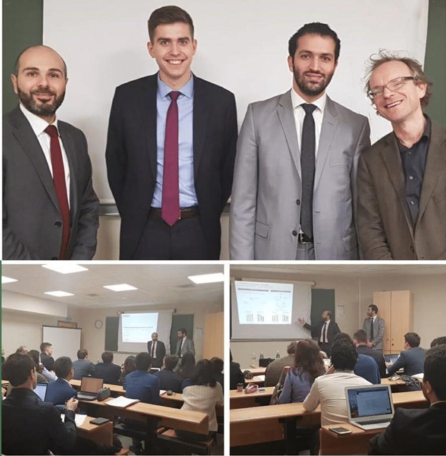 Conférence étudiants Finance Sorbonne
