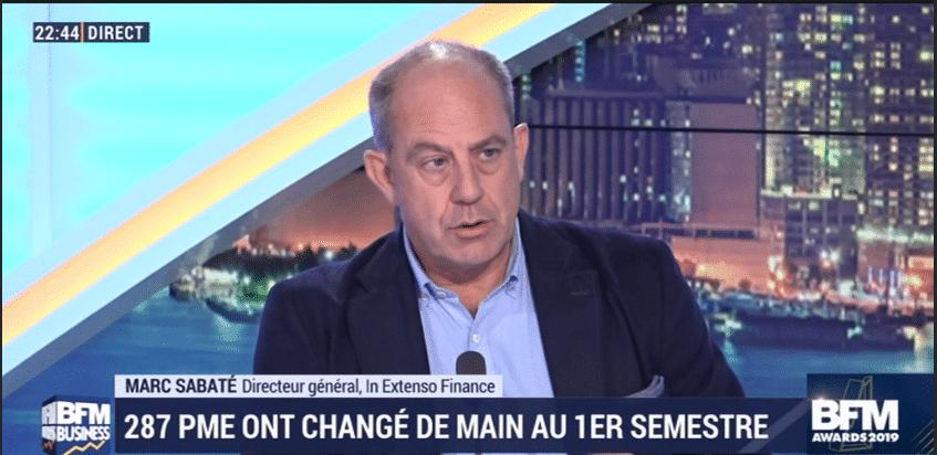 Marc Sabaté présente Régions & Transmission sur BFM Business
