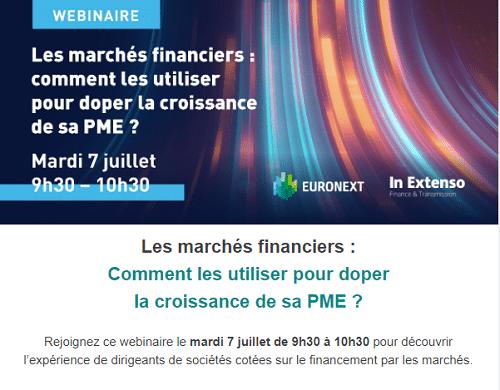 Webinar Euronext x In Extenso Finance & Transmission