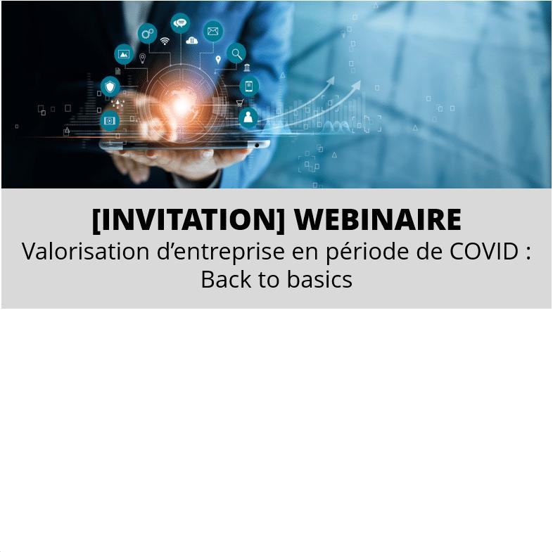 Webinar Valorisation COVID
