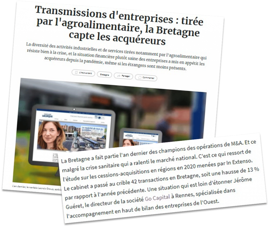 Article Echos Bretagne